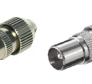 F Connectors Ariel Plugs & Splitters